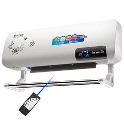 O aquecedor de parede tipo aquecedor de controle remoto doméstico aquecedor elétrico de poupança de energia na parede de banho anti eletricidade aquecimento