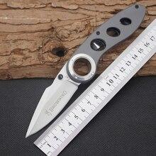 440C Сталь Blade Стали Ручка Складной Нож БРАУНИНГ Выживание Ножи Карманные Охота Тактические Ножи Отдых Открытый EDC Инструменты 11