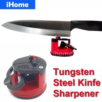 New Amazing Suction Knife Sharpener Manual Sharp Chef Kitchen Damascus Knives Sharpening Tool Scissors Sharpner Easy to Use