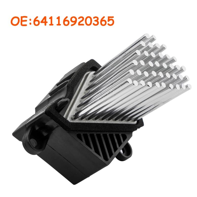 64116923204 64116929486 Blower Motor Resistor AC Heater Fan for BMW E39 E53 E83 E46 E36 325 328 M3 64116931680 64118380580 64116929540 Hot car parts