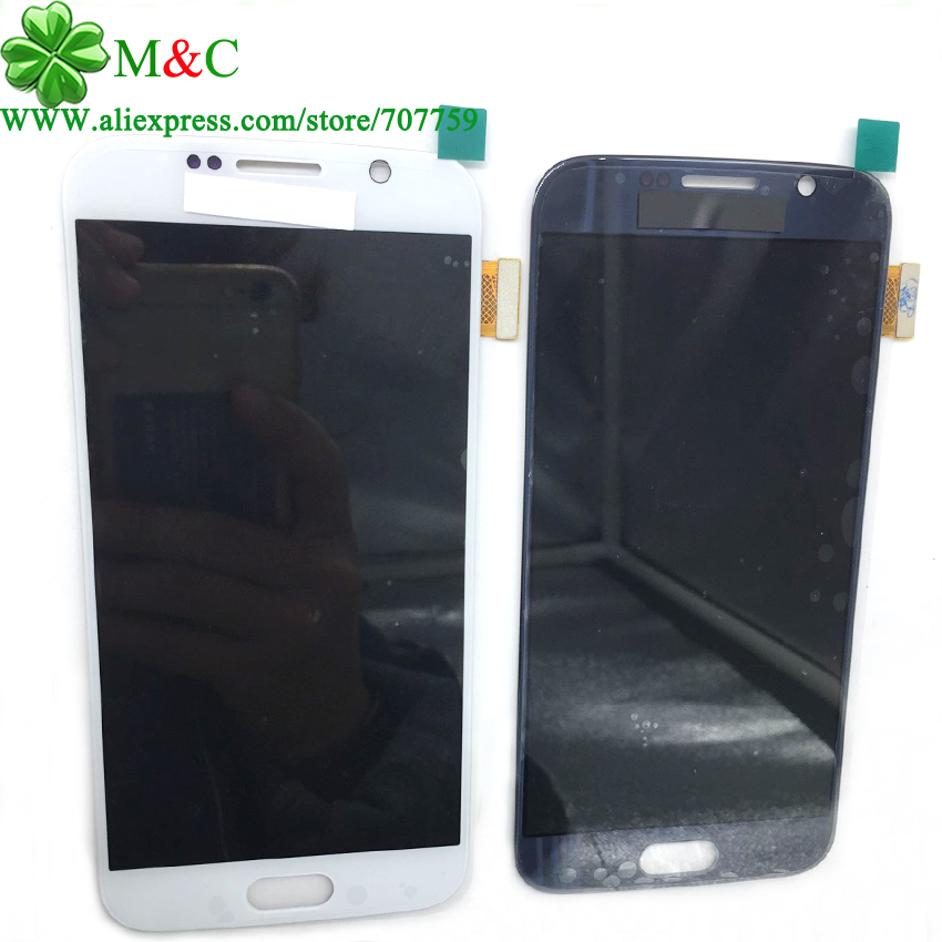 OEM Tested S6 LCD Touch Panel For Samsung Galaxy S6 G920 LCD Display Touch Screen Digitizer Panel Assembly Free By Post