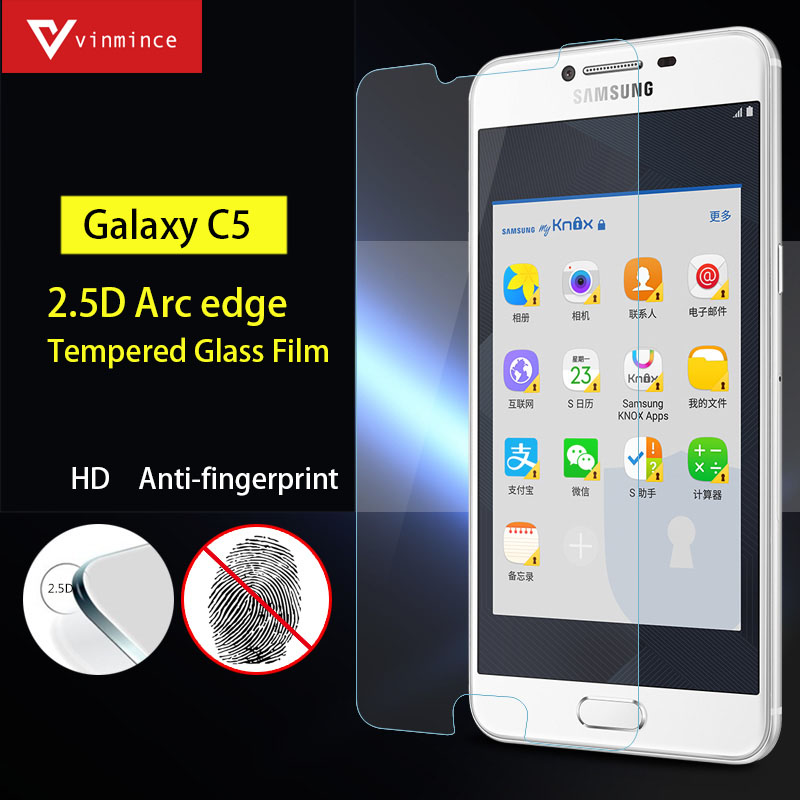 Tempered Glass Screen <font><b>Protector</b></font> for Samsung C5 C500 C7 C700 Glass <font><b>Blu-ray</b></font> protect eyes Protective Film for Samsung Galaxy C5 C7