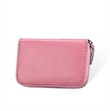 New Fashion Genuine Leather Small  Women Wallets and Purses Short Zipper Lady Wallet Coin Pocket Card Holder Bag korean style famous brand designer women short wallet faux suede leather coin bag card holder lady day clutches purses&wallets