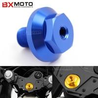 BXMOTO Motorfiets Motor triple clamp Olievuldop Plug Bolt Schroef voor Yamaha YZF R3 MT-03 XT350 Virago 535 250 TW200 15-2017