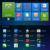 Android 4.4 Proyector 3D 1200 Lm de Apoyo 1920x1080 P TV Analógica LLEVÓ el MINI Proyector wifi Proyector para el Hogar teatro Cine GP70UP