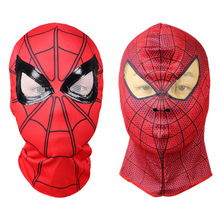 Marvel Avengers Spiderman superheroe Cosplay mascara de Spider-Man baile fiesta Halloween la cara llena