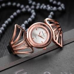 Новые роскошные ленты розового золота Для женщин часы Роскошные Relojes Mujer Для женщин часы Кварцевые наручные часы женские часы моды Femme