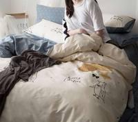 Character bird bedding sets teen child kid,100%cotton twin full queen king cartoon bedclothes flat sheet pillowcase duvet cover