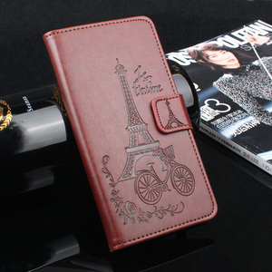 leather Phone flip Case For Sa