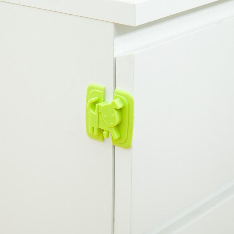 2pcs-Puppy-Shape-Safety-Locks-for-Refrigerators-Door-Baby-Safe-Protection-From-Children-Lock-Castle-Security (1)