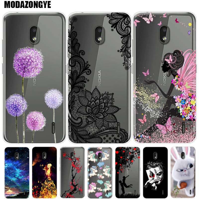 Case For Nokia 2.2 Phone Case Nokia2.2 Cover Nokia 2.2 TA-1188 TA-1191 TA-1179 TA-1183 Case Silicone Soft TPU Back Cover image