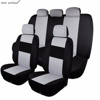 Car Wind Universal Fit Auto Automobiles Car Seat Covers Full Set Winter Lada Kalina Ford Focus