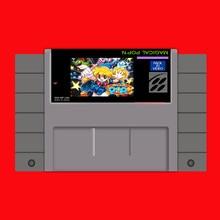 Волшебный pop'n 16 бит большой серый карточная игра для США NTSC игры