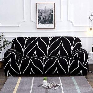 Image 1 - אדום כיסויים ספה כיסוי הכל כלול להחליק עמיד חתך ספה מכסה לסלון אלסטי ספה כיסוי 1 /2/3/4 מושבים