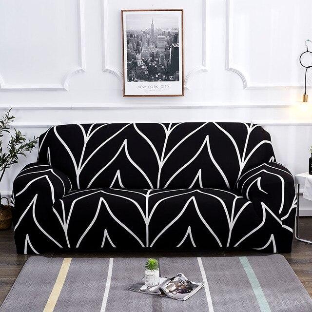 אדום כיסויים ספה כיסוי הכל כלול להחליק עמיד חתך ספה מכסה לסלון אלסטי ספה כיסוי 1 /2/3/4 מושבים