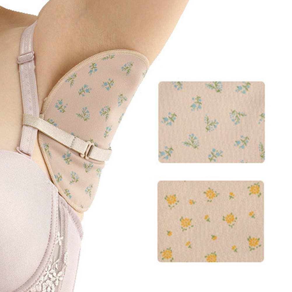 2 Pcs Reusable Armpit Sweat Pads Women Men Washable Underarm Armpit Absorbent Pads For Summer Clothing Gaskets