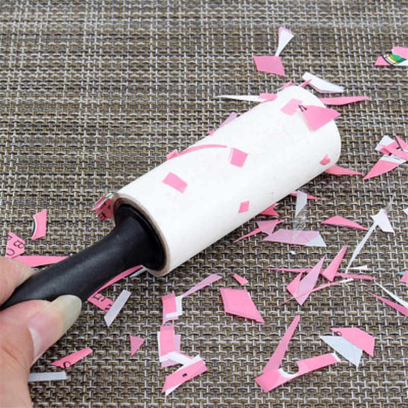 Roupas Casaco Cão de Estimação Cabelo Removedor de Fiapos de Tecido Rolo de Pano Pegajoso Removedor Barbeador Mini Portátil Dispositivo de Limpeza Escova do Fiapo