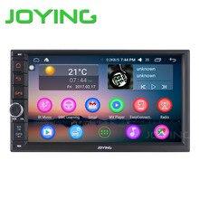 """JOYING Android 6.0 2 GB RAM 32 GB ROM 7 """"2Din radio de Coche la unidad principal de radio apoyo volante control de Audio auto Estéreo wifi DVR"""