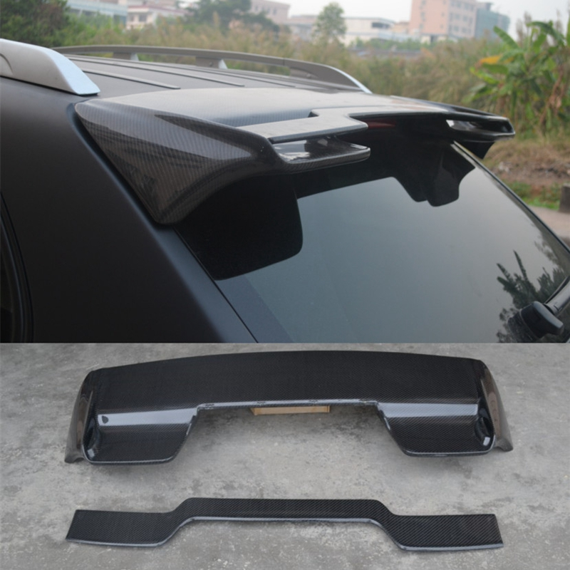 Car-Styling Carbon fiber Glass Rear Roof Spoiler Fit For 2004-2010 Cayenne & 955 957 GTS-Style Roof Spoiler стоимость