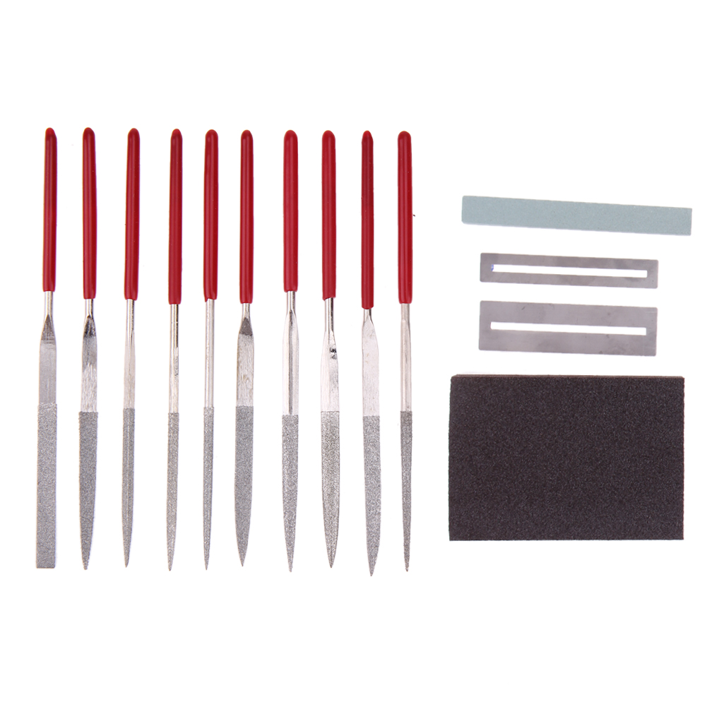 Instrument Repair Tool kit Grinding Stone Sponge Frets Stainless File Musical Instrument Accessories For Guitar Ukelele Bass