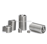 M2 M2.5 M3 M4 M5 M6 Stainless steel 304 threaded protection wire sleeve heli coil spring thread inserts for repair thread