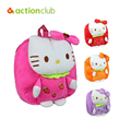 Backpack toy Fashion New Arrival 4 Color 1-3 Y Hot Hello Kitty Bow plush backpack mochila children's backpacks  toy for children