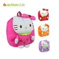 Juguete mochila Moda de Nueva Llegada de 4 Colores 1-3 Y Caliente Hello Kitty Arco de peluche mochila mochila mochilas para niños juguete para niños