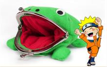 New Arrival Frog Wallet Anime Cartoon Wallet Coin Purse Manga Flannel Wallet Cute purse Naruto Coin holder цена 2017