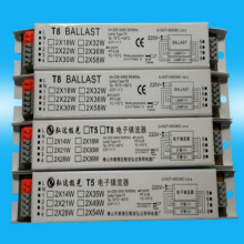 220v-240V 2*18W 2*36W 2*58W electronic ballast t8 ballasts for fluorescent FREE SHIPPING