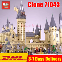 2018 Compatible Legoings 71043 LEPIN 16060 6742pcs Harry Magic Potter Hogwarts Castle Building Blocks Bricks Kids DIY Toy