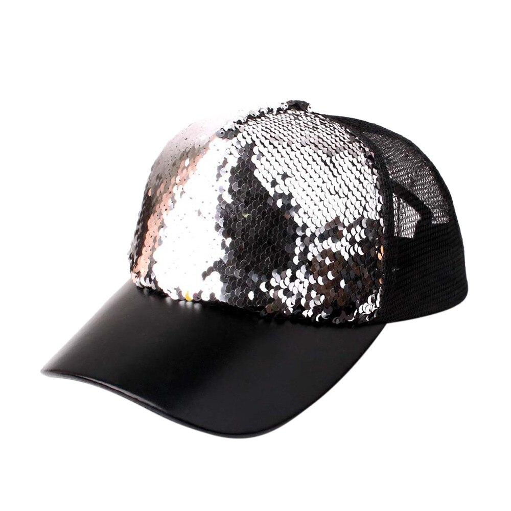Gorra Baseball-Cap Mesh Sun-Hats Patchwork Adjustable Cool Fashion Summer Women -Pingyou
