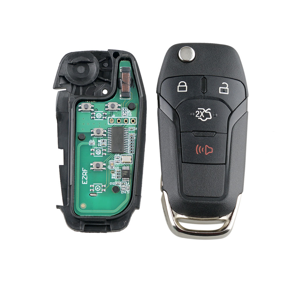 4 Buttons Folding Remote <font><b>Key</b></font> Fob 315MHz for <font><b>Ford</b></font> <font><b>Fusion</b></font> 2013 2014 <font><b>2015</b></font> 2016 N5F-A08TAA Car accessoriesc image
