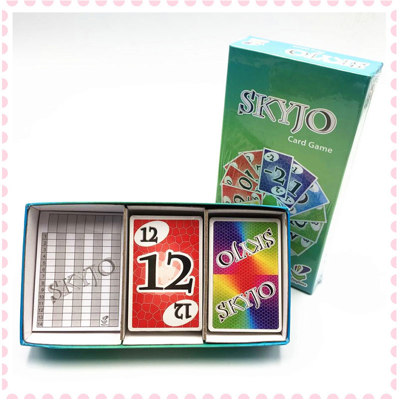 SKYJO Board Game Toy Paper Card Game Card Parent-child Interaction Children Adult Educational Toys
