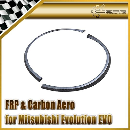 Car-styling For Mitsubishi Evolution EVO 8 9 VTX Cyber Carbon Fiber Rear Fender Flare