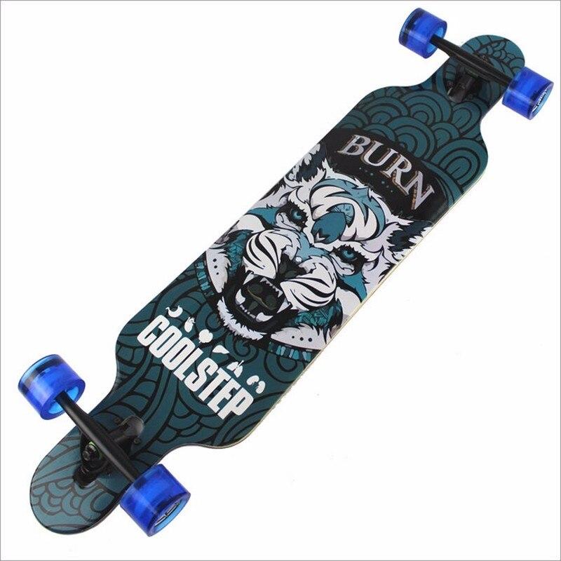 Skateboard layer Canadian Maple Skate Board Brush Street Deck Four Wheels Longborad
