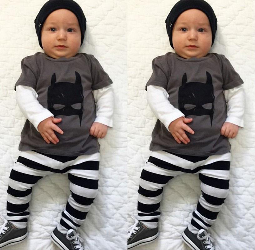 2eb44d5efc42 Baby boy clothes 2015 Batman summer style cotton toddler boy ...