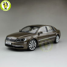 1 18 VW Volkswagen Phaeton Diecast Model Car Brown Color