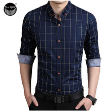 Мужская рубашка Brand 2017 Men'S Fashion