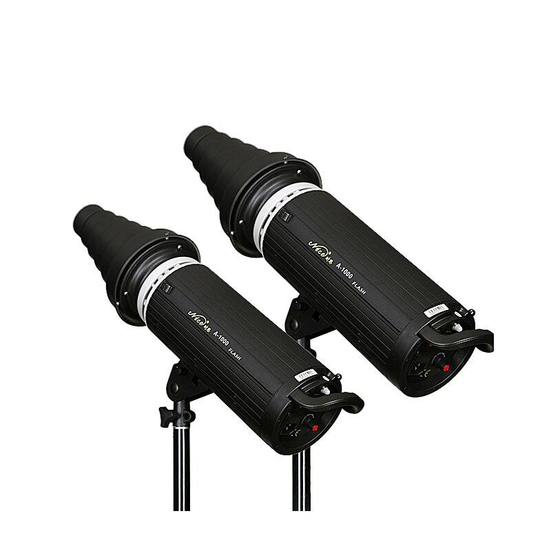 NiceFoto a-1000w professional studio lights flash light photography light equipment single lamp