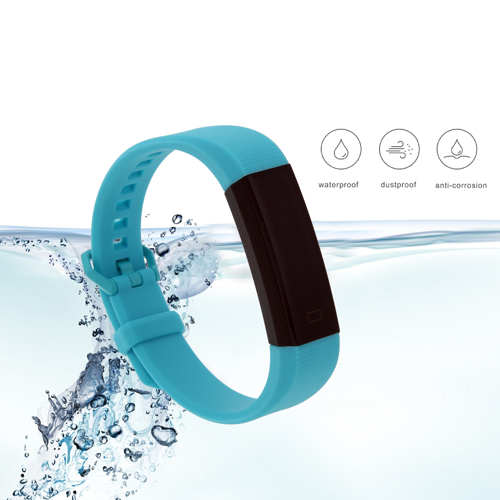 Smart Bracelet Bluetooth 4 0 with 0 87inch OLED Touch Screen IP67 Waterproof Heart Rate Monitor