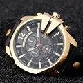 Relogio Masculino CURREN Мужчины Часы 2016 Топ Роскошные Популярный Бренд Часы Человек Кварцевые Золотые Часы Мужчины Часы мужские Часы часы