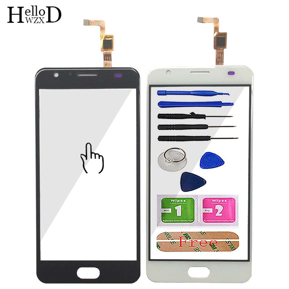 Touch Screen Panel For Ulefone Power 2 Touch Screen Glass Digitizer Panel Lens Sensor 5.5'' Mobile Phone Tools Adhesive
