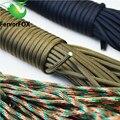 Паракорд 550  2 мм * 10 м  веревка  шнурок  военные аксессуары  парашют для активного отдыха  кемпинга и выживания  100 цветов