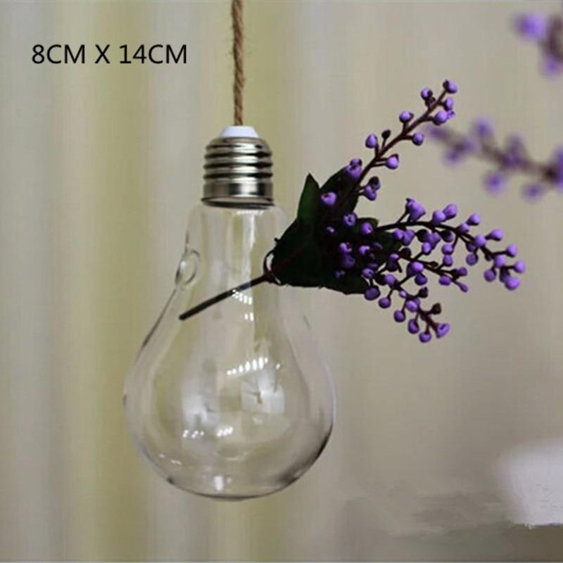 Fashion Lamp/Cone Shaped Glass Hanging Plant Vase