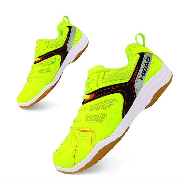 HEAD Hard-wearing Men Badminton Shoes Training Breathable Anti-Slippery Light Training Sneakers Zapatillas Deportivas 2017 original kawasaki badminton shoes men and women zapatillas deportivas anti slippery breathable for lover