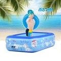 Детский бассейн 120*85*35 СМ детские надувные бассейн для детей большие пластиковые бренд intex надувные ребенка плавательный бассейн для малышей