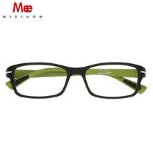3b6f89897 MEESHOW TR90 نظارات الإطار عالية الجودة الرجال النساء النظارات فائقة ضوء  النظارات الطبية صغيرة البصرية إطار 9356