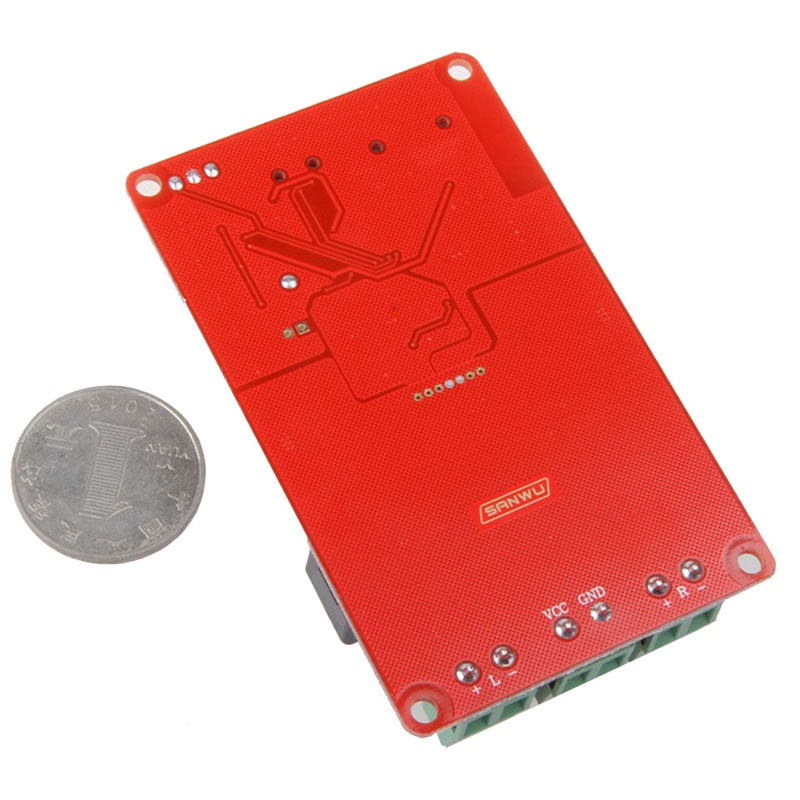 TPA3116 50W+50W Bluetooth Receiver Digital Audio Amplifier Board TF card U disk player FM Radio With Remote contro I 2-001
