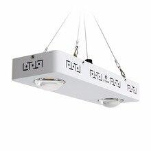 Затемнения полный спектр удара светодио дный светать CREE CXB3590 200 Вт 26000LM = HPS 400 Вт растет лампы комнатное растение роста Панель освещения