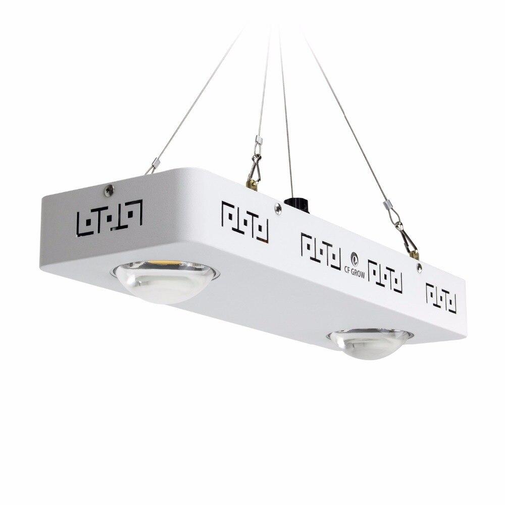 Dimmable Spectre Complet COB LED Élèvent La Lumière CREE CXB3590 200 W 26000LM = HPS 400 W Lampe De Croissance Des Plantes D'intérieur croissance Panneau D'éclairage